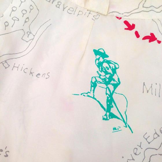 宝の地図パンツ