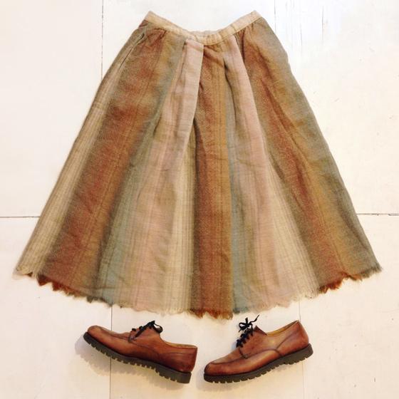 ウールスカート